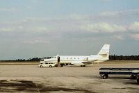 N19ES @ PIE - Jetstar II of Esmark Inc of Chicago as seen at Clearwater in November 1979. - by Peter Nicholson