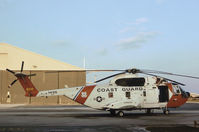 1495 @ PIE - HH-3F Pelican of USCG Station Clearwater in November 1979. - by Peter Nicholson