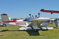 N9032Q @ LAL - Storm damaged at Sun n Fun 2011 at Lakeland , Florida