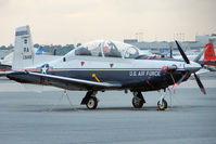 06-3848 @ PNS - 2006 Raytheon T-6A Texan II, c/n: PT-403 - by Terry Fletcher