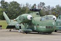 145864 @ NPA - Sikorsky CH37C, ex Serial  145864 , c/n 56.099 in Outside storage at Pensacola Naval Museum