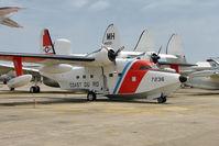 7236 @ NPA - Grumman HU-16E Albatross, c/n: G-322 in outside storage at Pensacola Museum