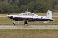 165984 @ NPA - Raytheon T-6A Texan II, c/n: PT-151 training at Pensacola - by Terry Fletcher