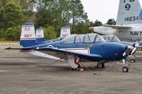 N7098U @ NPA - Beech D-45, c/n: BG-147  ex 140813 in the outside storage at Pensacola Naval Museum