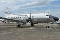 141015 @ NPA - Convair C-131F Samaritan, c/n: 298 in outside storage at Pensacola Naval Museum