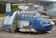 N9980Q @ NPA - 1957 Beech T-34B, c/n: BG-377 ex 144070 in open storage at Pensacola Naval Museum