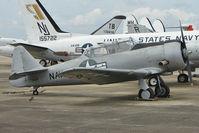 112121 @ NPA - North American SNJ-6 Texan, c/n: 121-43084 in storage outside Pensacola Naval Museum