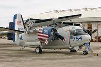 136754 @ NPA - Grumman C-1A Trader, c/n: 7 in outside storage at Pensacola Naval Museum