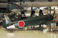 T2-306 @ NPA - 1945 Kawanishi N1K2-J Shiden-KAI , Serial 343-A-19  - believed to be one of only 4 surviving examples of the type left in the world - on display at Pensacola Naval Museum