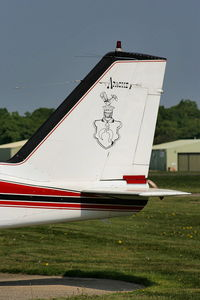 G-ASEP @ EGLD - Air Warren Ltd - by Chris Hall