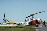 157845 @ ORL - TH-1L Iroquois of Helicopter Training Squadron HT-18 at NAS Whiting Field as seen at Herndon in November 1979. - by Peter Nicholson