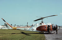 157834 @ ORL - TH-1L Iroquois of Helicopter Training Squadron HT-18 based at NAS Whiting Field as seen at Herndon in November 1979. - by Peter Nicholson