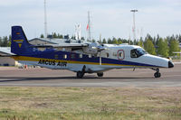 D-CUTT @ ESOK - Not so common aircraft type here in Sweden. Nice visit. - by Krister Karlsmoen