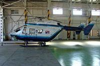 JA9990 @ RJNA - JA9990   MBB/Kawasaki BK-117C-1 [1038] Nagoya-Komaki~JA 04/11/2005.Converted fron a BK-117B-1.
