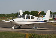 N147CD @ EGLK - one of the Cirrus147 flying group aircraft, the others in the fleet are N147GT, N147KA, N147LD, N147LK, and N147VC - by Chris Hall