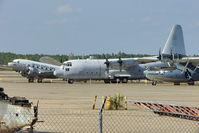 149798 @ NPA - Lockheed KC-130F Hercules, c/n: 282-3680 in outside storage at Pensacola Naval Museum