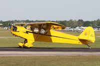 N28001 @ LAL - Piper J3C Cub