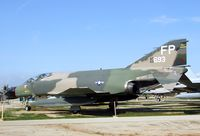 63-7693 - McDonnell F-4C Phantom II at the March Field Air Museum, Riverside CA