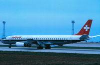HB-IDL @ LMML - DC8 HB-IDL Swissair - by raymond