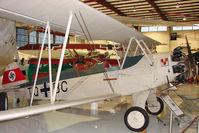N44FW - Focke Wulf 44J STIEGLITZ, c/n: 138 at Polk Museum  with Code TQ-BC