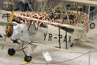 N40BJ - 1946 Bucker BU-133, c/n: 4 Coded YR-PAX at Polk Museum