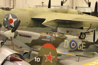 N476TE - 1944 Vickers/supermarine SPITFIRE MARK XVI, c/n: TE476 at Polk Museum
