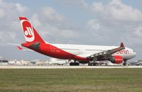 D-ALPH @ MIA - Air Berlin A330-200