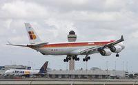 EC-IZX @ MIA - Iberia A340-600