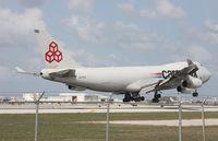 LX-YCV @ MIA - Cargolux 747-400F - by Florida Metal