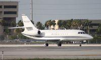 N220DF @ MIA - Falcon 2000