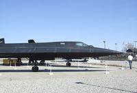 61-7973 - Lockheed SR-71A Blackbird at the Blackbird Airpark, Palmdale CA