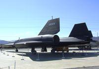 60-6924 - Lockheed A-12 Blackbird at the Blackbird Airpark, Palmdale CA