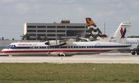 N377AT @ MIA - American Eagle ATR 72