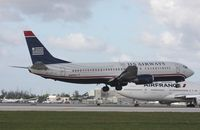 N405US @ MIA - US Airways 737-400