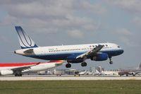 N442UA @ MIA - United A320
