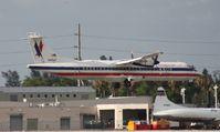 N451AT @ MIA - American Eagle ATR 72