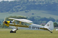 G-BPYN @ EGHR - At vintage Fly-In - by John Richardson