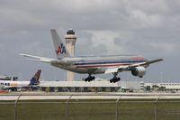 N777AN @ MIA - American 777