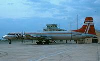 G-AZKJ @ LMML - CL44 G-AZKJ Transmeridian Air Cargo - by raymond