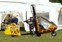 G-IRAF @ EGHP - Rotary Air Force RAF-2000 GTX-SE [PFA G/13-1278] Popham~G 30/4/2011