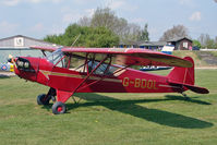 G-BDOL - Piper J3C-65 Cub at Bidford on Avon airfield - by Robert Beaver