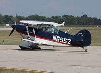 N69SZ @ PTK - Pitts S-2B