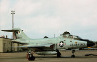 58-0259 @ PAM - F-101B Voodoo at Tyndall AFB in November 1979. - by Peter Nicholson