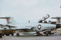 57-0277 @ PAM - F-101B Voodoo at Tyndall AFB in November 1979. - by Peter Nicholson