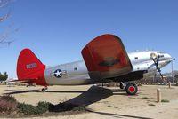 44-78019 - Curtiss C-46D Commando at the Joe Davies Heritage Airpark, Palmdale CA - by Ingo Warnecke