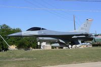 86-0301 @ NFW - On static display at NAS Fort Worth May be actually USNavy F-16N block 30 #163569 is now painted as a regular USAF (86-1687) - by Zane Adams