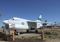 154449 - Vought (LTV) A-7B Corsair II at the Joe Davies Heritage Airpark, Palmdale CA - by Ingo Warnecke