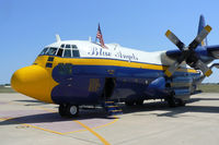 164763 @ NFW - At the 2011 Air Power Expo - NAS Fort Worth Warbird Radio media ride photos.  fat Albert Airlines awaiting departure for a 9 minute flight to FUN!