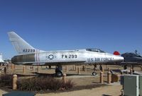 54-2299 - North American F-100D Super Sabre at the Joe Davies Heritage Airpark, Palmdale CA