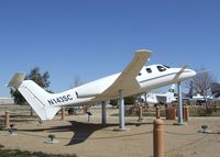 N143SC - Scaled Composites (Burt Rutan design for Beechcraft) Model 143 Triumph at the Joe Davies Heritage Airpark, Palmdale CA - by Ingo Warnecke